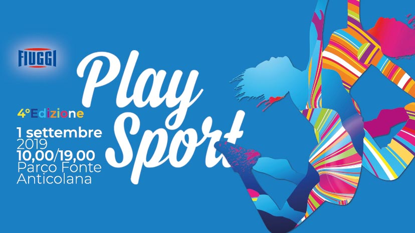 Play Sport Fiuggi Terme 1 settembre 2019
