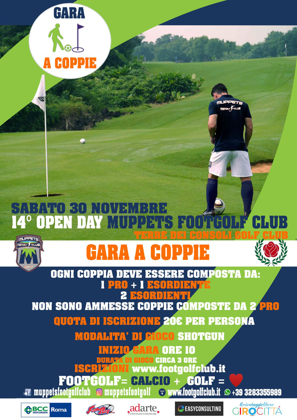 14° Open Day Muppets FootGolf Club