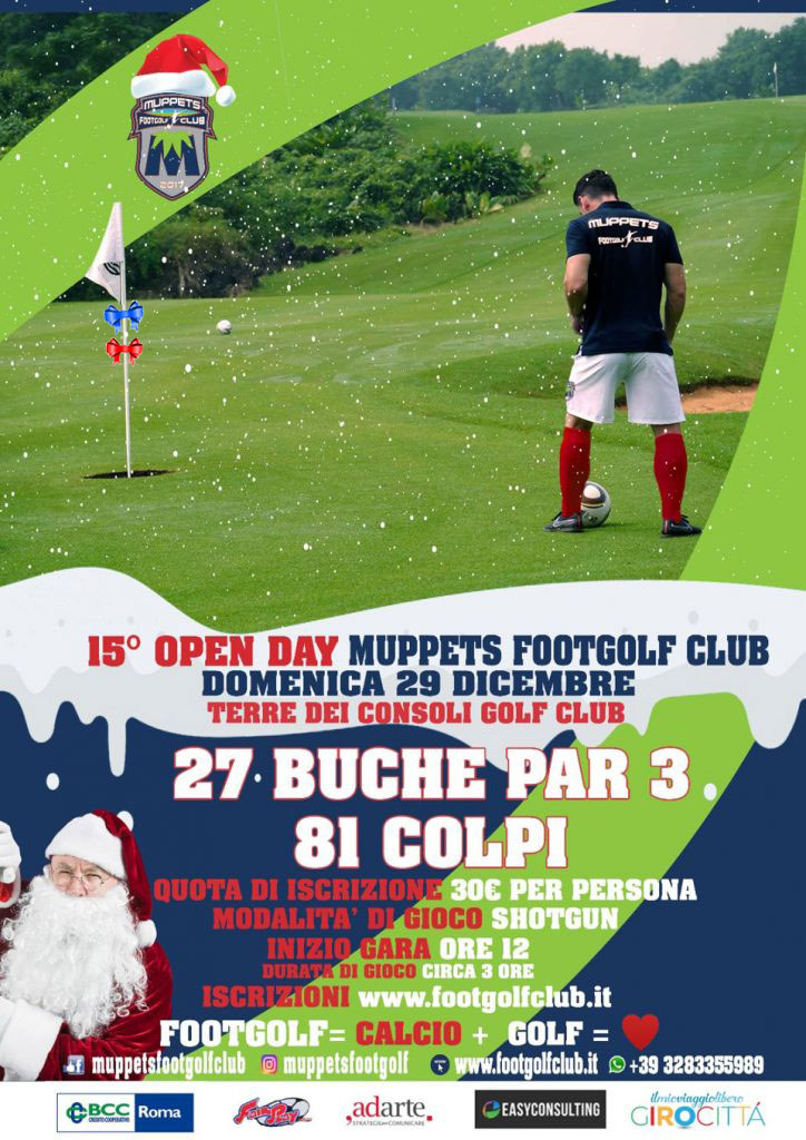 15° Open Day Muppets FootGolf Club